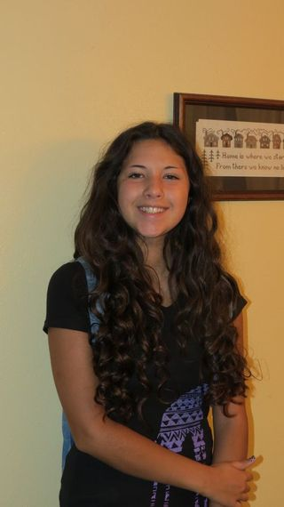Grace first day Sophomore Year